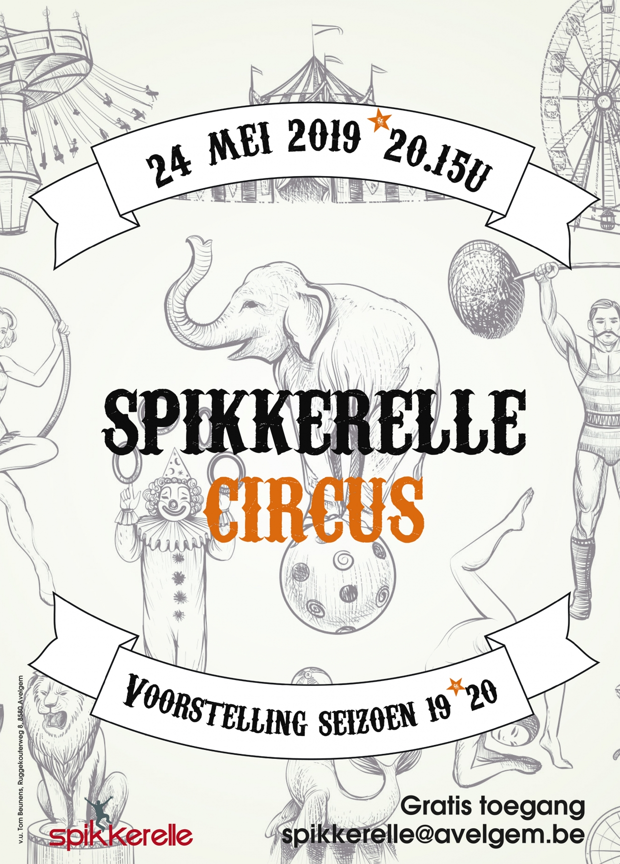 Spikkerelle circus